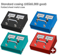 Das MOD Duo-Pedal im geplanten Standardgehäuse