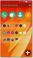 Das neue Firefox-Menü mit blauer Benachrichtigungsleiste