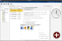 Das neue Layout von WebApp unterstützt Widgets