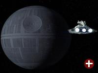 Das Original - Der Todesstern aus Star Wars