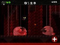 Das Plattform-Spiel Gish