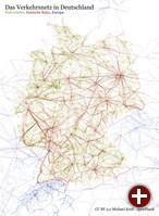 Das Verkehrsnetz Deutschland in openPlanB