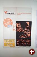 Das Werbeplakat für den Hacking-Contest.