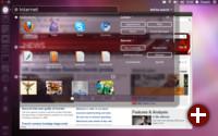 Dash von Unity in Ubuntu 11.10
