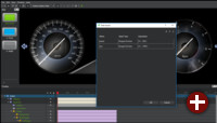 Dateneingabe in Qt 3D Studio 1.1