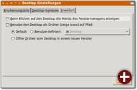 Das Openbox-Menü muss extra aktiviert werden, damit es bei Rechtsklick auf den Desktop angezeigt wird