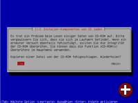 Debian Installer hängt