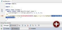 Debugging von Lambda-Ausdrücken in IntelliJ IDEA 15