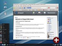 Dektop von Trisquel 4.5