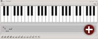 Demo-Anwendung »Piano« von Motif 2.3.4