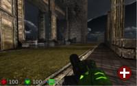 Demo eines Spieles, das Pointer Lock verwendet