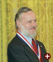 Dennis Ritchie bei der Verleihung der National Medal of Technology