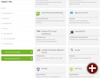 Der App-Katalog