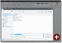 Der Dateidialog von WPS Office