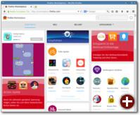 Der Firefox Marketplace im Browser