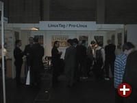 Der Gemeinschaftsstand des LinuxTag und Pro-Linux