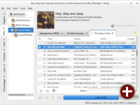 Der Musikplayer Exaile in der Version 3.4