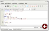 Der neue Editor der Octave-GUI