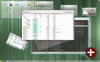 Der Plasma-Desktop unter Opensuse 11.4