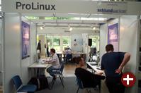 Der Pro-Linux-Stand in der Gesamtansicht