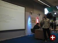 Der Vortrag des PL-Teams (demon)