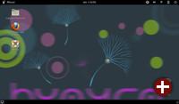Desktop von Huayra Linux