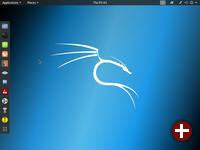 Desktop von Kali Linux 2019.2