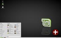 Desktop von Mate 1.8 in Linux Mint 18.2