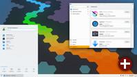 Desktop von Plasma 5.19
