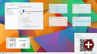 Desktop von Plasma 5.3