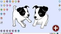 Desktop von Puppy Linux 6.0