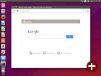 Der »Internet-Browser« von Ubuntu