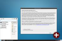 Desktop von Whonix 15