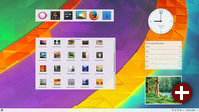 Desktop-Widgets in KDE Plasma 5.8