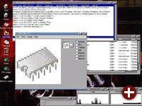Ein weiterer Screenshot des AtheOS-Desktops