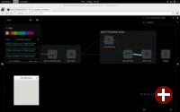 Die FlowHub-Oberfläche für die Gnome-Entwicklung