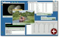 Die guten Multimedia-Eigenschaften wurden von BeOS geerbt