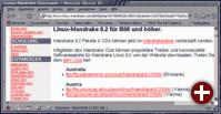 Die Linux Mandrake Download-Seite