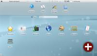 Die Plasma Netbook-Komponente in KDE SC 4.5