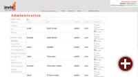 Diensteverwaltung im invis Portal