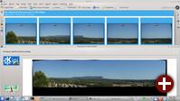 Digikam mit dem neuen Panorama-Tool