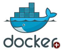 Logo von Docker