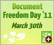 Document Freedom Day 2011