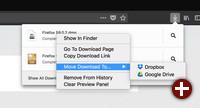 Downloads in die Cloud verschieben
