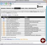 Die Quarantäne-Funktion von Dspam