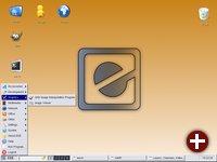 Desktop von EDE 2 Beta