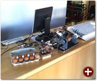 Eierbemalen mit dem Eggbot, gcodetools und Inkscape