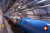 Ein Foto des Large Hadron Colliders, das unter die neue Lizenz gestellt wurde