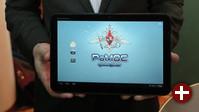 Ein Tablet mit RoMos auf der IFA
