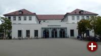 Einer der Orte der Veranstaltung - Denkmalgeschütztes Studentenhaus in Karlsruhe